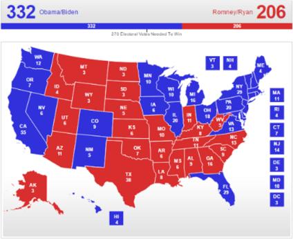 Romney 2012, via RCP